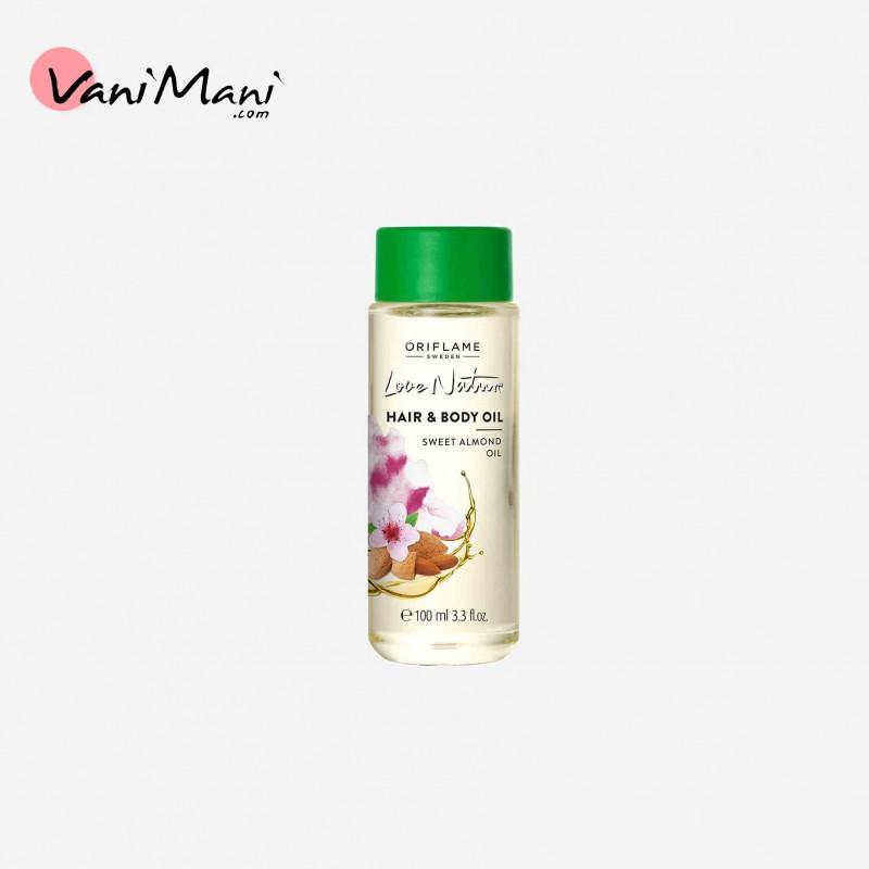 روغن مو و بدن بادام لاونیچر اوریفلیم Love Nature Hair & Body Oil Oriflame